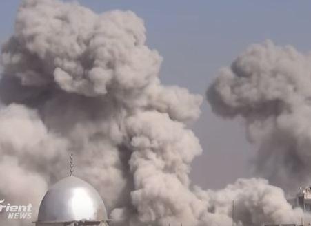 شاهد ..أكثر من 40 غارة على مدن وبلدات الغوطة الشرقية