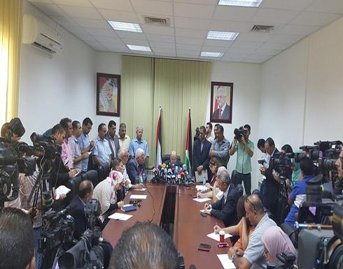 انطلاق الاجتماعات التحضيرية للمجلس الوطني الفلسطيني