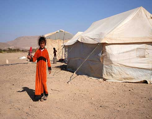 56 منظمة تدين الصمت الدولي تجاه استهداف النازحين بمأرب