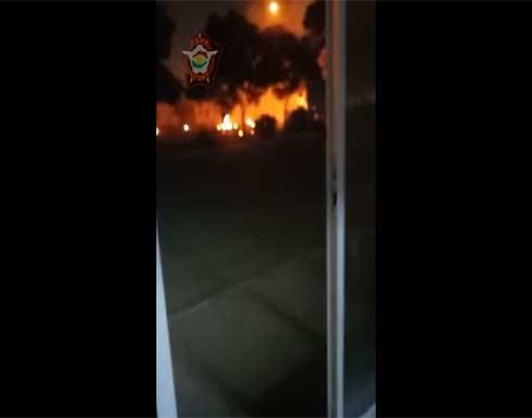 لا إصابات في الهجوم الذي طال مطار أربيل و الهجوم نفذ بطائرة مسيرة