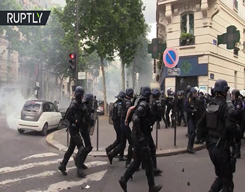 """بالفيديو : فرنسا.. أضعف مشاركة في مظاهرات """"السترات الصفراء"""" منذ إطلاق الحراك"""