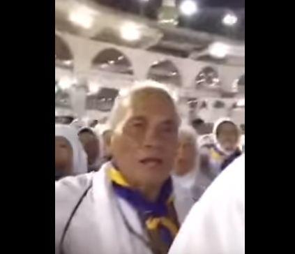 بالفيديو.. مقطع طريف لفلبينيين يدعون حول الكعبة يحصد الآف التعليقات