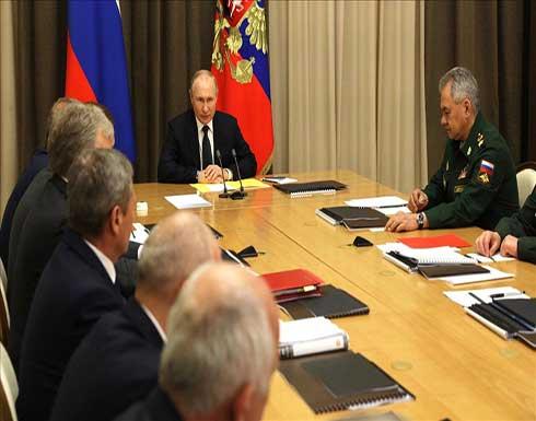 بوتين: جربنا أحدث الأسلحة في عمليات بسوريا