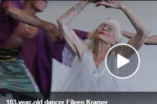 بالفيديو - أشهر راقصة عجوز تشغل العالم برشاقتها... عمرها 103 أعوام!!