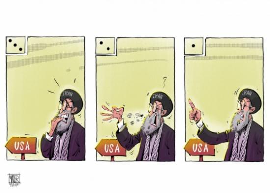 إيران في ورطة
