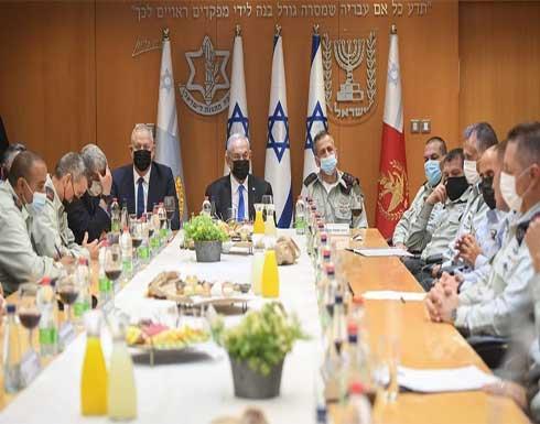نتنياهو يدعو للتهدئة بالقدس والاستعداد لأي سيناريو بغزة