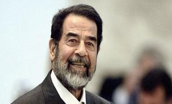 صورة لصدام حسين تنشر لأول مرة قبل إعدامه بدقائق قليلة