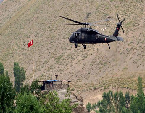 تركيا تنفي مزاعم إسقاط مروحية لها في عفرين