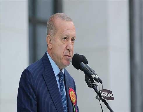 أردوغان: سنعرض على الأمة تصوراتنا للدستور الجديد مطلع 2022