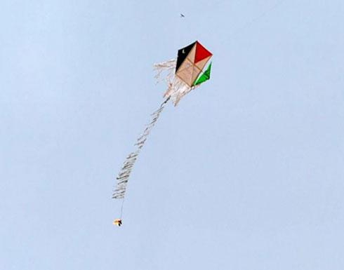 الطائرات الورقية تشعل 17 موقعا في اسرائيل