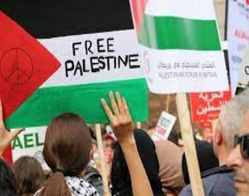 اشتباكات بين مؤيدين لفلسطين وأخرين لكيان الإحتلال في نيويورك