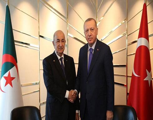 لقاء مغلق بين الرئيسين التركي والجزائري في برلين