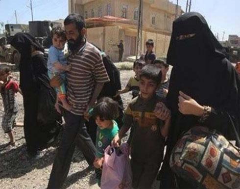 عائلات عراقية تبدأ بالنزوح قبيل انطلاق عملية تحرير راوة