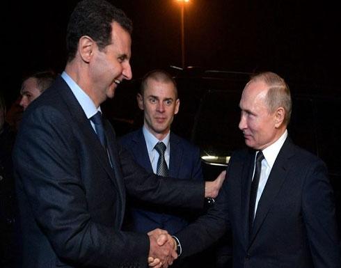 الأسد سيكون الخاسر في أي خطة لبوتين بعد مقتل سليماني