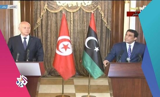 الرئيس التونسي: نقف بجانب الليبيين لإعادة بناء الدولة