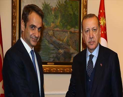 أردوغان وكيرياكوس يبحثان الهجرة والقضايا الإقليمية