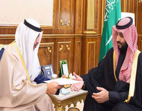 محمد بن سلمان يتسلّم رسالة من أمير الكويت