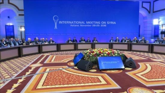 اختتام الجولة الـ 11 لمباحثات أستانة حول سوريا