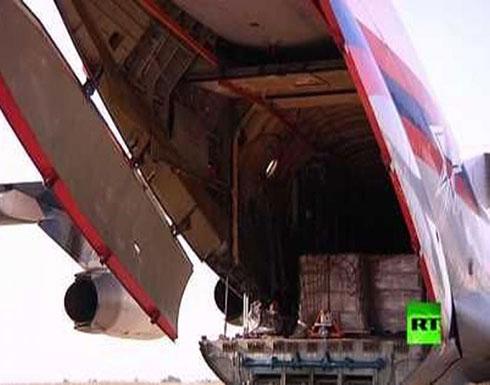 وصول عشرات الأطنان من المساعدات إلى سوريا
