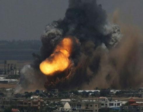 وزير إسرائيلي يدعو لغارات قاتلة على قطاع غزة