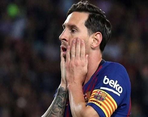 برشلونة يعلن إصابة ميسي