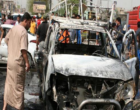 عشرات القتلى والجرحى بتفجير في بغداد