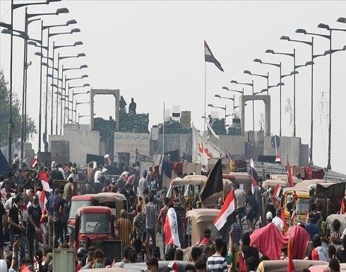 العراق.. إصابة 15 متظاهرا بتفريق محتجين وسط بغداد