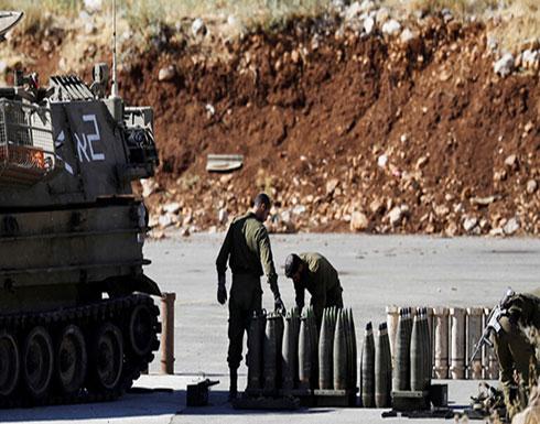 بالفيديو :  سقوط عدة قذائف من الجانب الاسرائيلي بالقرب من مدينة بنت جبيل جنوب لبنان