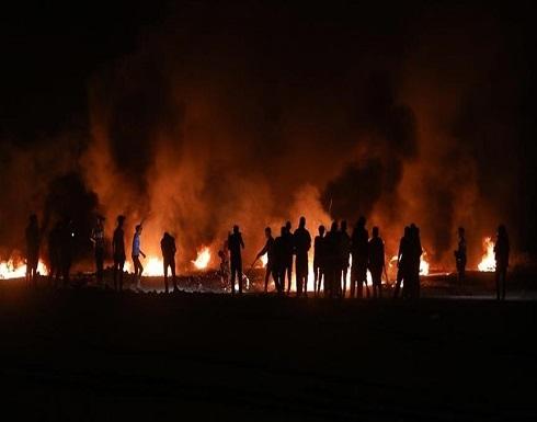 """""""الإرباك الليلي"""".. إسرائيل تصيب 3 فلسطينيين على حدود غزة"""