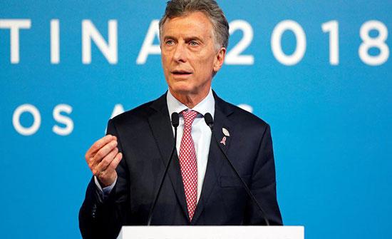 رئيس الأرجنتين: نبحث فرصا استثمارية مع السعودية