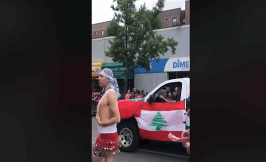 احتفال للمثليين.. وعلم لبنان يرفرف! (فيديو)