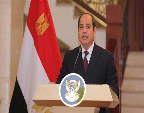 السيسي يؤكد دعم مصر لمسار الحريري السياسي