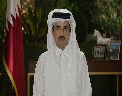 أمير قطر يؤكد لكوشنر أهمية إيجاد تسوية عادلة للقضية الفلسطينية
