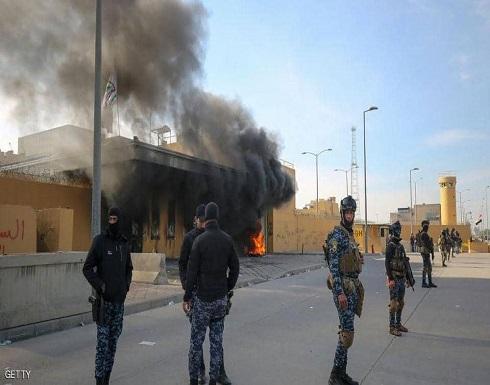 بغداد.. بدء انسحاب ميليشيات الحشد من أمام السفارة الأميركية
