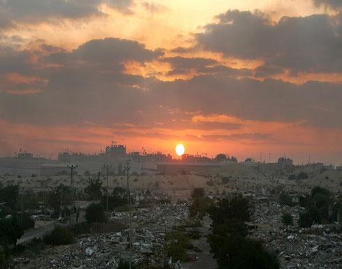 انفجار في منطقة الشيخ رضوان وسط مدينة غزة وأنباء عن إصابات