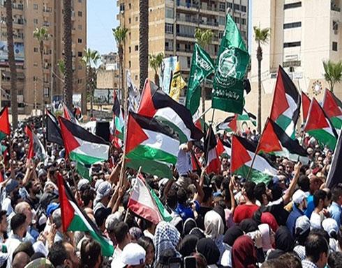 شاهد : مظاهرات في لبنان ضد قرار وزير العمل اللبناني بحق الفلسطينيين