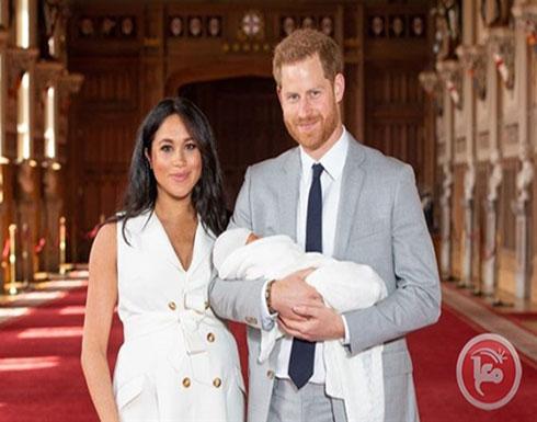 صور- الظهور الأول لمولود الأمير هاري وميغان ماركل