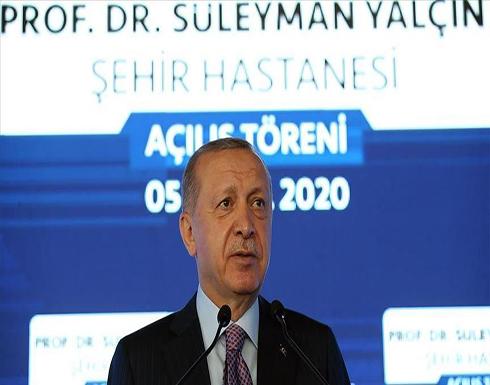 أردوغان: تركيا القوية مستعدة للتقاسم العادل لثروات المتوسط