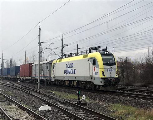 قطار الشحن التركي إلى الصين يصل أولى محطاته بولاية كوجا إيلي