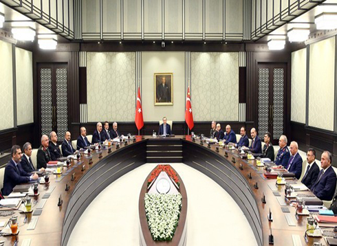 """مجلس الأمن القومي التركي يؤكد عدم السماح لعناصر """"ب ي د"""" بتشكيل ممر إرهابي شمالي سوريا"""