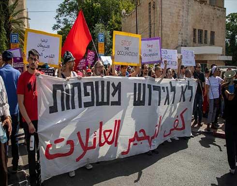 مسيرة ووقفة حاشدة دعما لأهالي الشيخ جراح بالقدس