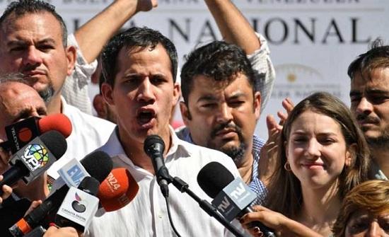 الإفراج عن رئيس البرلمان الفنزويلي المعارض بعد توقيفه لوقت قصير