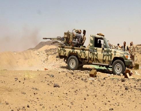 بقصف مدفعي وغارات للتحالف.. خسائر كبيرة للحوثيين غرب مأرب