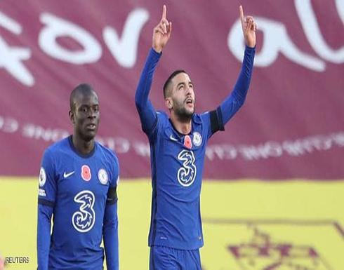 فوز صعب لمان سيتي وتألق لافت للمغربي زياش مع تشلسي