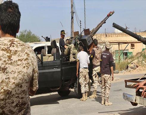 الجيش الليبي: قواتنا على بعد كيلومترات من سرت