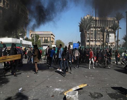 صدامات وإطلاق نار في ساحة الوثبة ببغداد