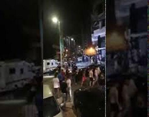 شاهد : سقاط حزب الله طائرة اسرائيلية مسيرة وانفجار أخرى في بيروت