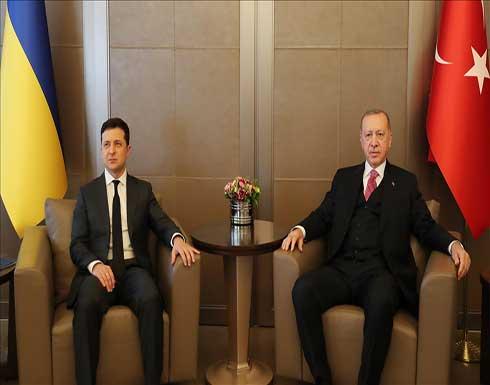 أردوغان وزيلينسكي يبحثان العلاقات الثنائية والوضع في دونباس الاوكرانية