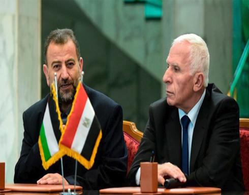 """وفد من """"حماس"""" برئاسة العاروري إلى القاهرة الأربعاء"""