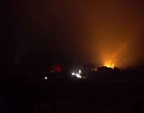 شاهد : عاصمة قره باغ تتعرض لقصف من جديد